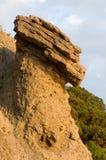 Geologic wonder - stone mushroom Stock Photography