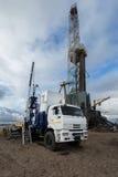 Geological equipment Stock Photo