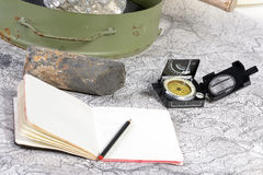 Geological expedition Royalty Free Stock Photography