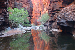 Geological feature. Famous Australian canyon with specific geological feature. Australia Stock Images