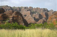 Geological feature of rolling hills Stock Photography