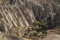 Geological Features in Cappadocia, Turkey Stock Images