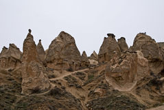 Geological features in Dervent valley. stock photos