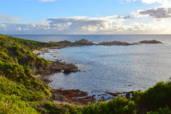 Geological features and rocks at Canal Rocks Stock Photography