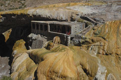 Geological formation of Puente del Inca Royalty Free Stock Photo