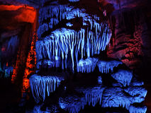 Geological formation underground. Stock Photography