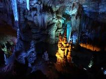 Geological formation underground. Stock Photos