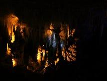 Geological formation underground. Royalty Free Stock Image