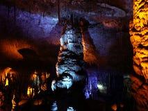 Geological formation underground. Stock Image
