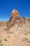 Geological formations, famous volcanic landscape in Teide National Park, Tenerife, Canary islands, Spain. Stock Photo