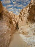 Geological formations in nature desert park of Timna, Israel Stock Photography