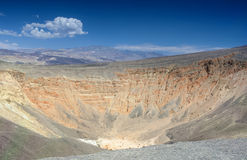 Geological Formations in Ubehebe Volcano in Death Valley Nationa Royalty Free Stock Photo