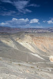 Geological Formations in Ubehebe Volcano in Death Valley Nationa Stock Photography