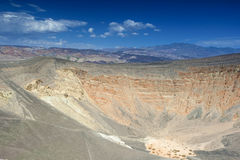 Geological Formations in Ubehebe Volcano in Death Valley Nationa Royalty Free Stock Photography