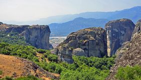 Geological Meteora Stock Photography