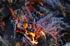 Geological Phenomenon, Campfire, Charcoal, Animal Source Foods Stock Image