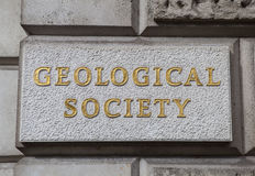 Geological Society of London Stock Images