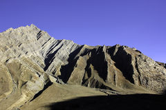 Geological Strata in Pin Valley Stock Images