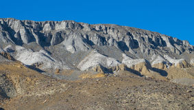 The geological stratigraphy Royalty Free Stock Photos