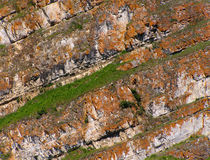 Geological stratum Royalty Free Stock Photo