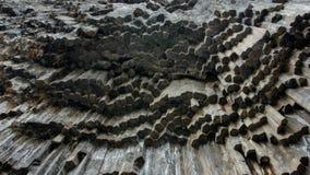 Geological struktury powulkaniczna aktywność zdjęcia stock