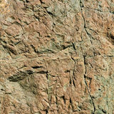 Geological texture with hazelnut color and a pattern of cracks royalty free stock image
