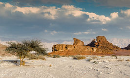 Geological Timna Park, Israel Stock Photo