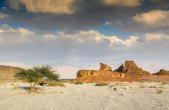 Geological Timna Park, Israel Stock Images