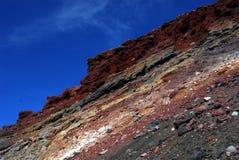 Geological warstwy Zdjęcie Stock