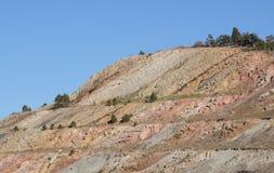 Geological warstwy Colorao góra Obrazy Royalty Free