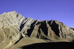 Geological warstwy w Wałkowej dolinie Obrazy Stock