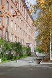 Geologisch Instituut in stad van Apatity Rusland royalty-vrije stock foto