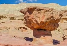 Geologische Anordnung im Timna Park, Israel Stockfotos