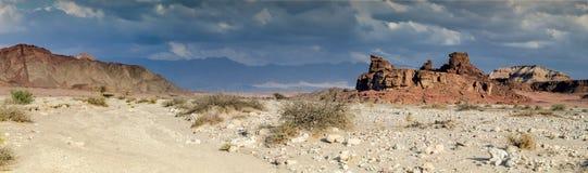Geologische Anordnungen im Timna Park, Israel Lizenzfreie Stockfotografie