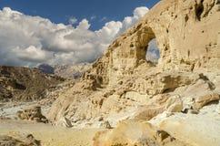 Geologische Anordnungen im Timna Park, Israel Lizenzfreie Stockbilder