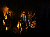Geologische Bildung Untertage Lizenzfreies Stockbild