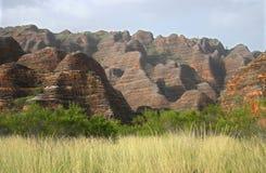 Geologische eigenschap van rollende heuvels Stock Fotografie
