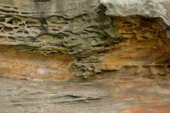 Geologische Erdschichten Lizenzfreies Stockbild