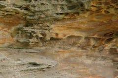 Geologische Erdschichten Lizenzfreie Stockfotos