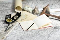 Geologische expeditie Royalty-vrije Stock Foto's