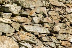 Geologische formatie - Rotsen - Heilig Eiland het UK, Wales royalty-vrije stock fotografie