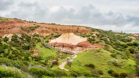 Geologische Funktionen an der Hallet-Bucht-Erhaltung parken, Adelaide, Süd-Australien Stockfoto