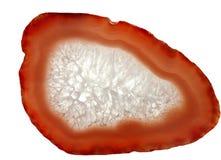 Geologische Kristalle der Achatdruse Stockfotos