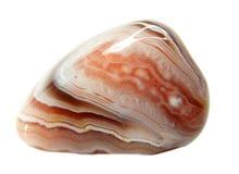 Geologische Kristalle der rosa Achatdruse Lizenzfreie Stockfotos
