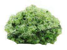 Geologische Kristalle Peridote-Druse Lizenzfreies Stockfoto