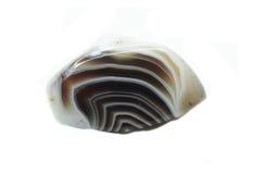 Geologische Mineralkristalle des Botswana-Achatkristallquarzes Lizenzfreie Stockbilder