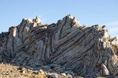 Geologische rotsen Stock Afbeelding