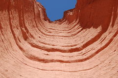 Geologische rotsvormingen in nationaal park Talapamya Royalty-vrije Stock Foto's