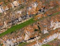 Geologische Schicht lizenzfreies stockfoto