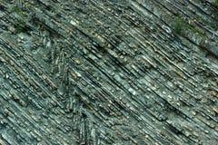 Geologische textuur van Karpatische bergen in de Oekraïne Royalty-vrije Stock Afbeelding